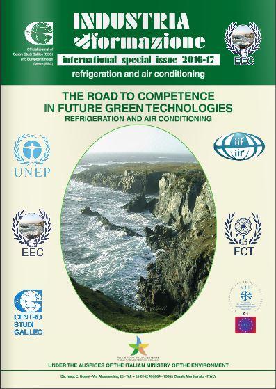International Special Issue UNEP-IIR-Centro Studi Galileo 2016